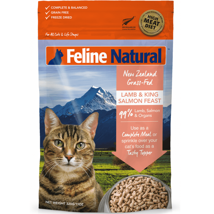 <b>20% OFF:</b> Feline Natural Freeze Dried Lamb & Salmon Feast