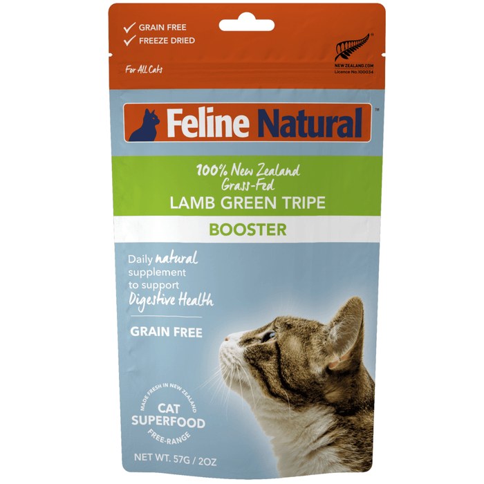 <b>20% OFF:</b> Feline Natural Freeze Dried Lamb Tripe Feast Booster