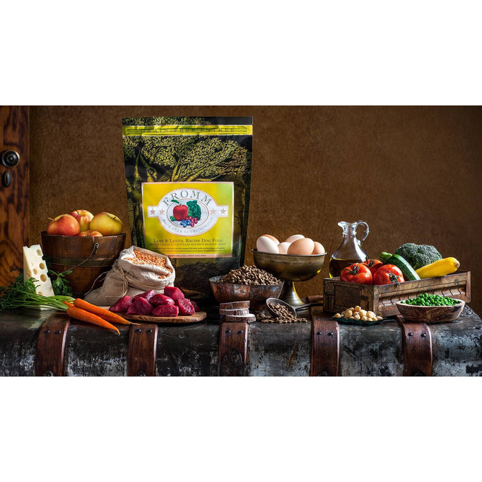 <b>10% OFF + FREE TREATS:</b>  Fromm Grain Free Lamb & Lentils Dry Dog Food