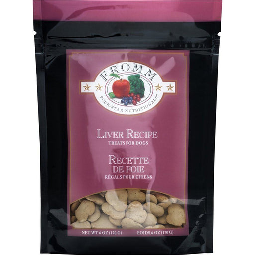 <b>10% OFF:</b> Fromm Grain Free Oven Baked Liver Biscuits