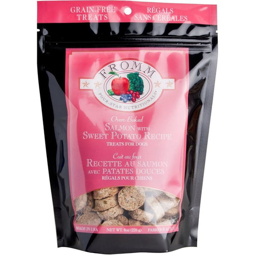 <b>10% OFF:</b> Fromm Grain Free Oven Baked Salmon & Sweet Potato Biscuits