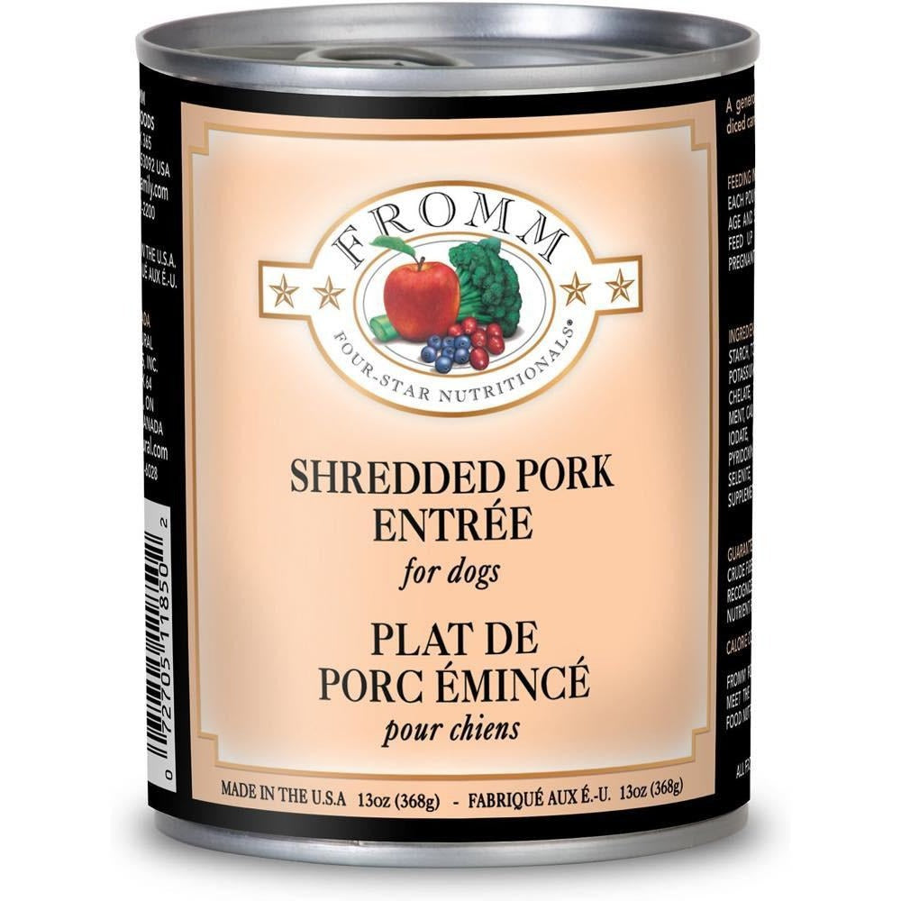 <b>10% OFF:</b> Fromm Shredded Pork In Gravy Entrée Wet Dog Food
