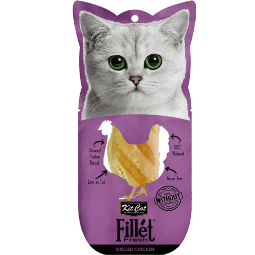 Kit Cat Fillet Fresh Grilled Chicken Cat Treats