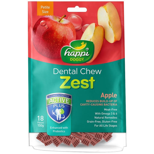 <b>15% OFF:</b> Happi Doggy Apple Dental Chews