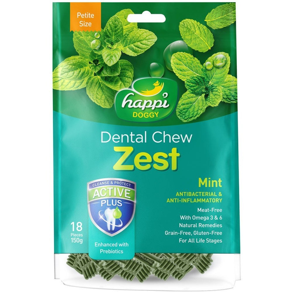 <b>15% OFF:</b> Happi Doggy Mint Dental Chews
