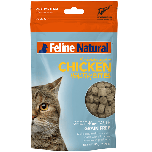 <b>20% OFF:</b> Feline Natural Freeze Dried Chicken Healthy Bites