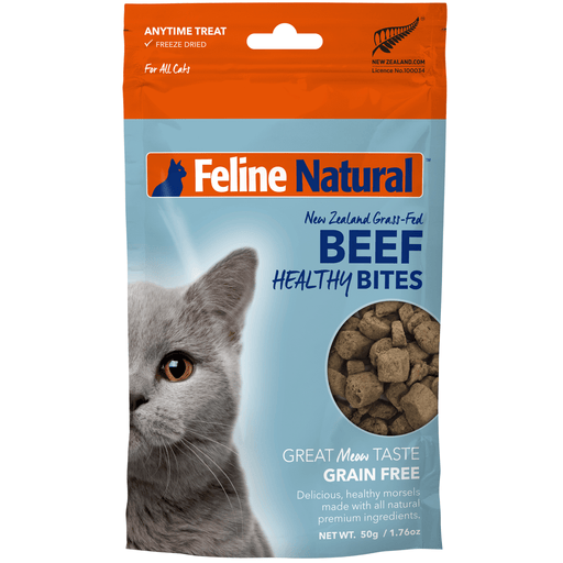 <b>20% OFF:</b> Feline Natural Freeze Dried Beef Healthy Bites