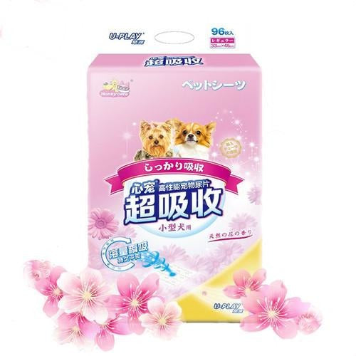 Honey Care U-Play Flora Scented Pet Sheets (96pcs/48pcs)