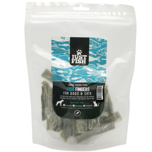 <b>10% OFF:</b> Just Fish Fish Fingers Treats For Dogs & Cats