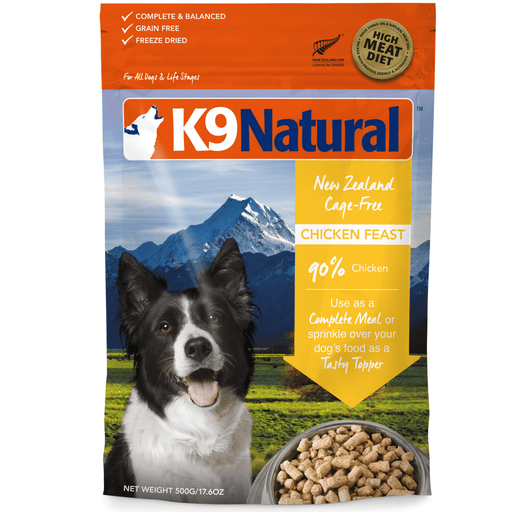 <b>20% OFF:</b> K9 Natural Freeze Dried Raw Chicken Feast