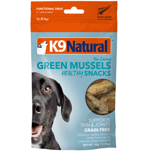 <b>20% OFF:</b> K9 Natural Freeze Dried Green Lipped Mussels Healthy Snack