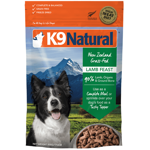 <b>20% OFF:</b> K9 Natural Freeze Dried Raw Lamb Feast