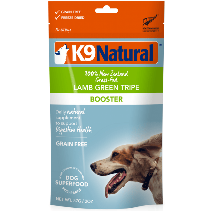 <b>20% OFF:</b> K9 Natural Freeze Dried Raw Lamb Tripe Booster Feast