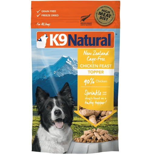 <b>20% OFF:</b> K9 Natural Freeze Dried Raw Chicken Feast Topper