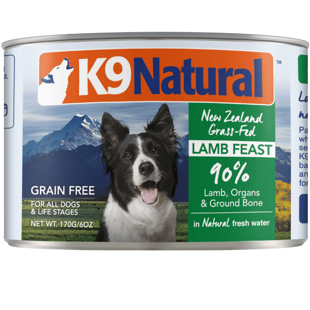 K9 Natural Grain Free Lamb Feast Wet Dog Food