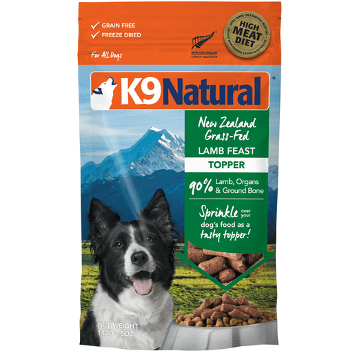 <b>20% OFF:</b> K9 Natural Freeze Dried Raw Lamb Feast Topper
