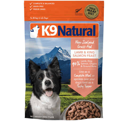 <b>20% OFF:</b> K9 Natural Freeze Dried Raw Lamb & Salmon Feast