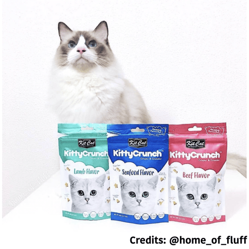 [PAWSOME DEAL]<b> 3 FOR $8.50:</b> Kit Cat Kitty Crunch Cat Treats