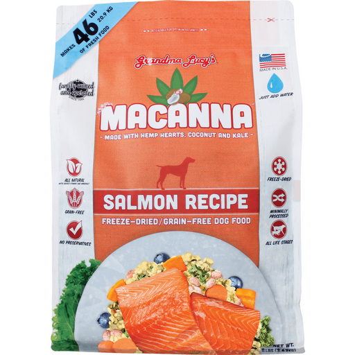 <b>10% OFF:</b> Grandma Lucy's Macanna Freeze Dried Salmon Dog Food