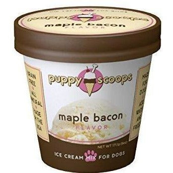 Puppy Cake Puppy Scoops Maple Bacon Ice Cream