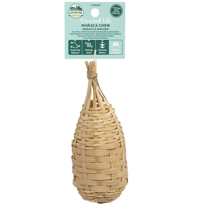 <b>20% OFF:</b> Oxbow Enriched Life Natural Chews Maraca Chew