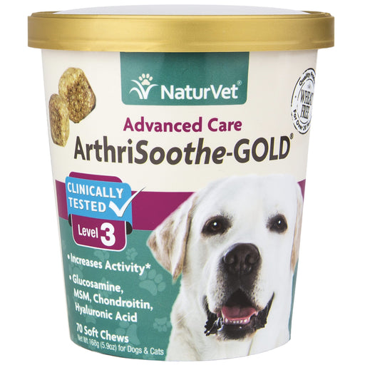 <b>20% OFF:</b> NaturVet Arthrisooth-GOLD Level 3 Soft Chews
