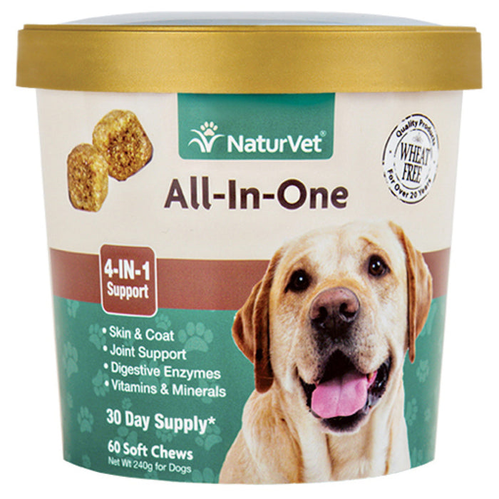 <b>20% OFF:</b> NaturVet All-In-One Soft Chews