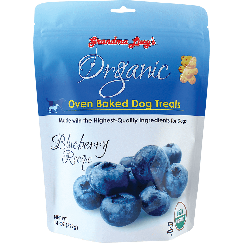 <b>25% OFF: </b> Grandma Lucy's Oven Baked Organic Blueberry Dog Treats