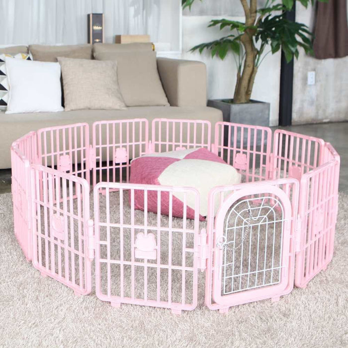 <b>20% OFF:</b> Pet Zone Pink Smart Fence Playpen