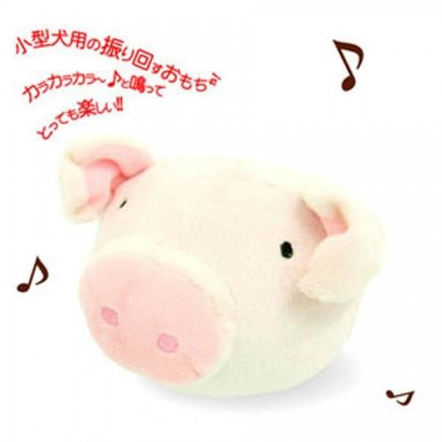 Petz Route Ringing Piggy Dog Toy
