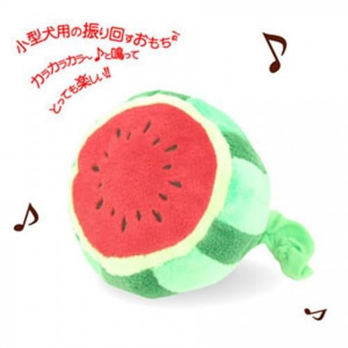 Petz Route Ringing Watermelon Dog Toy