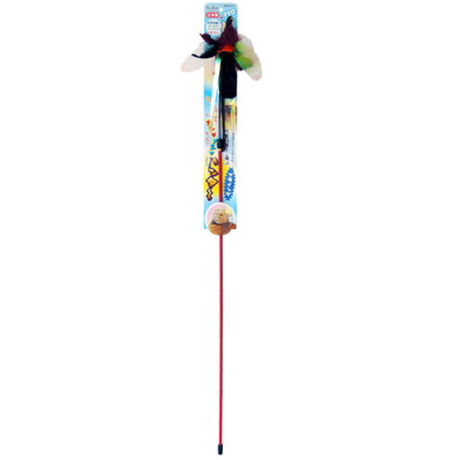 <b>15% OFF:</b> Petz Route Rustling Hunter Flying Rod Cat Toy