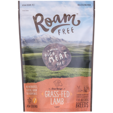Roam Air Dried Lamb Dog Food