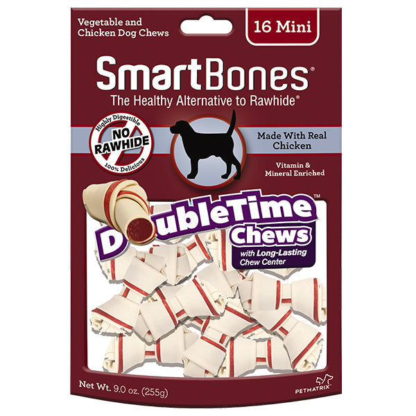 <b>10% OFF:</b> SmartBones DoubleTime Mini Chicken Chew Treats (16Pcs)
