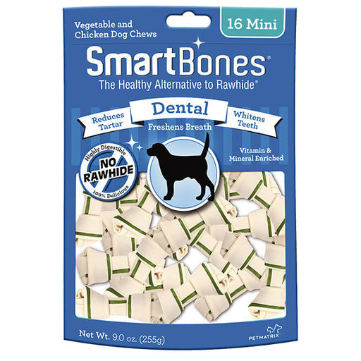 <b>10% OFF:</b> SmartBones Mini Dental Formula Chew Treats (8Pcs/16Pcs)