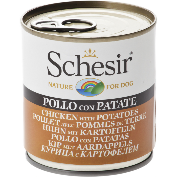 Schesir Chicken With Potatoes Wet Dog Food