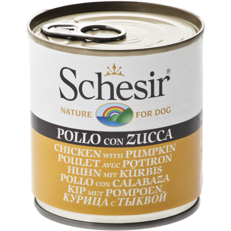 Schesir Chicken With Pumpkin Wet Dog Food