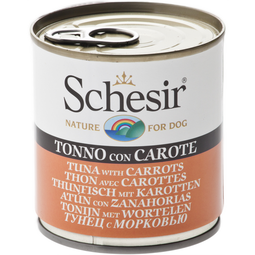 <b>10% OFF:</b> Schesir Tuna With Carrots Wet Dog Food