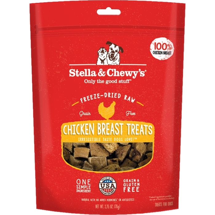 Stella & Chewy's Freeze Dried Raw Chicken Breast Dog Treats