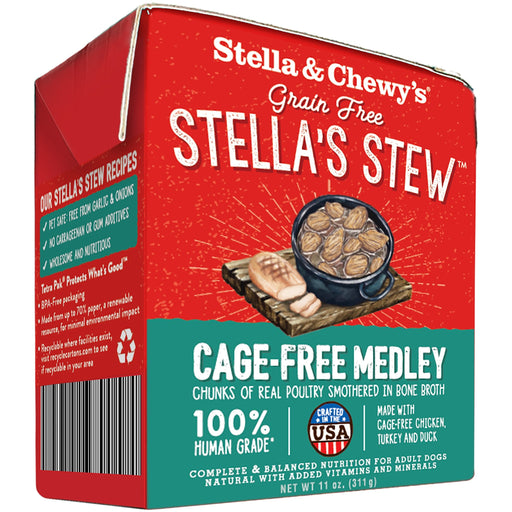 Stella & Chewy's Grain Free Medley Chicken, Turkey & Duck Stew