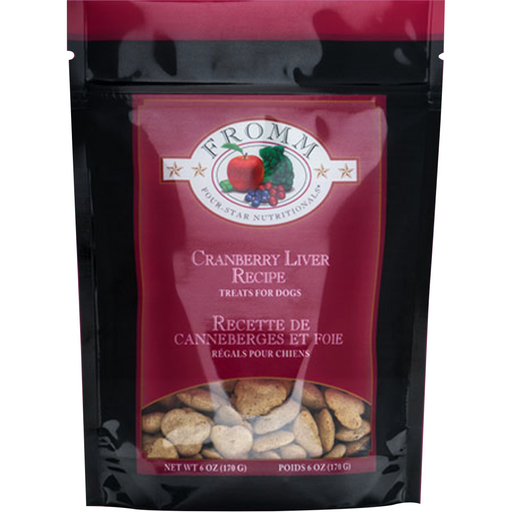 <b>10% OFF:</b> Fromm Grain Free Oven Baked Cranberry Liver Biscuits