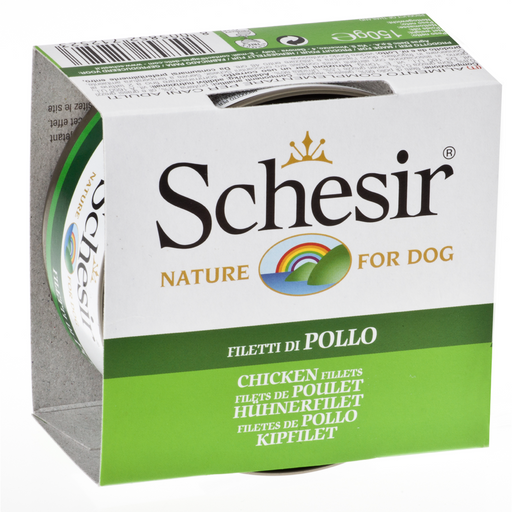 Schesir Chicken Fillet Wet Dog Food