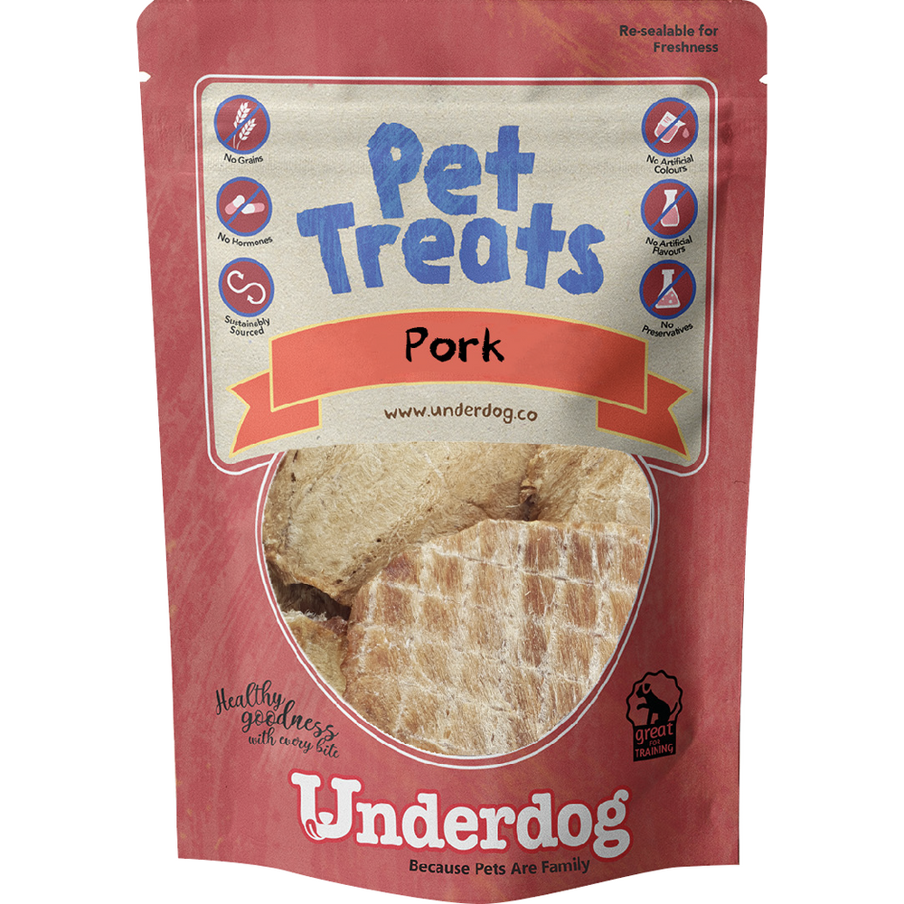 Underdog Pork Jerky For Dogs