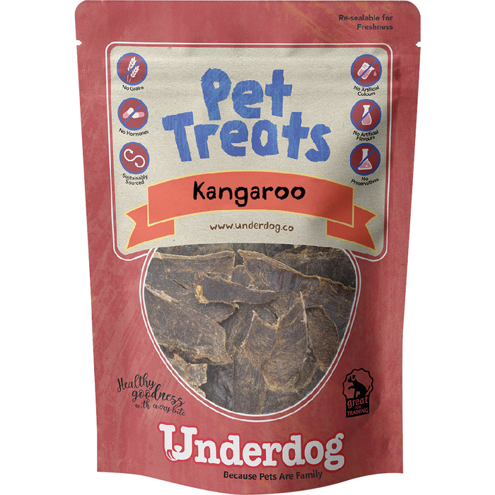 Underdog Kangaroo Jerky For Dogs