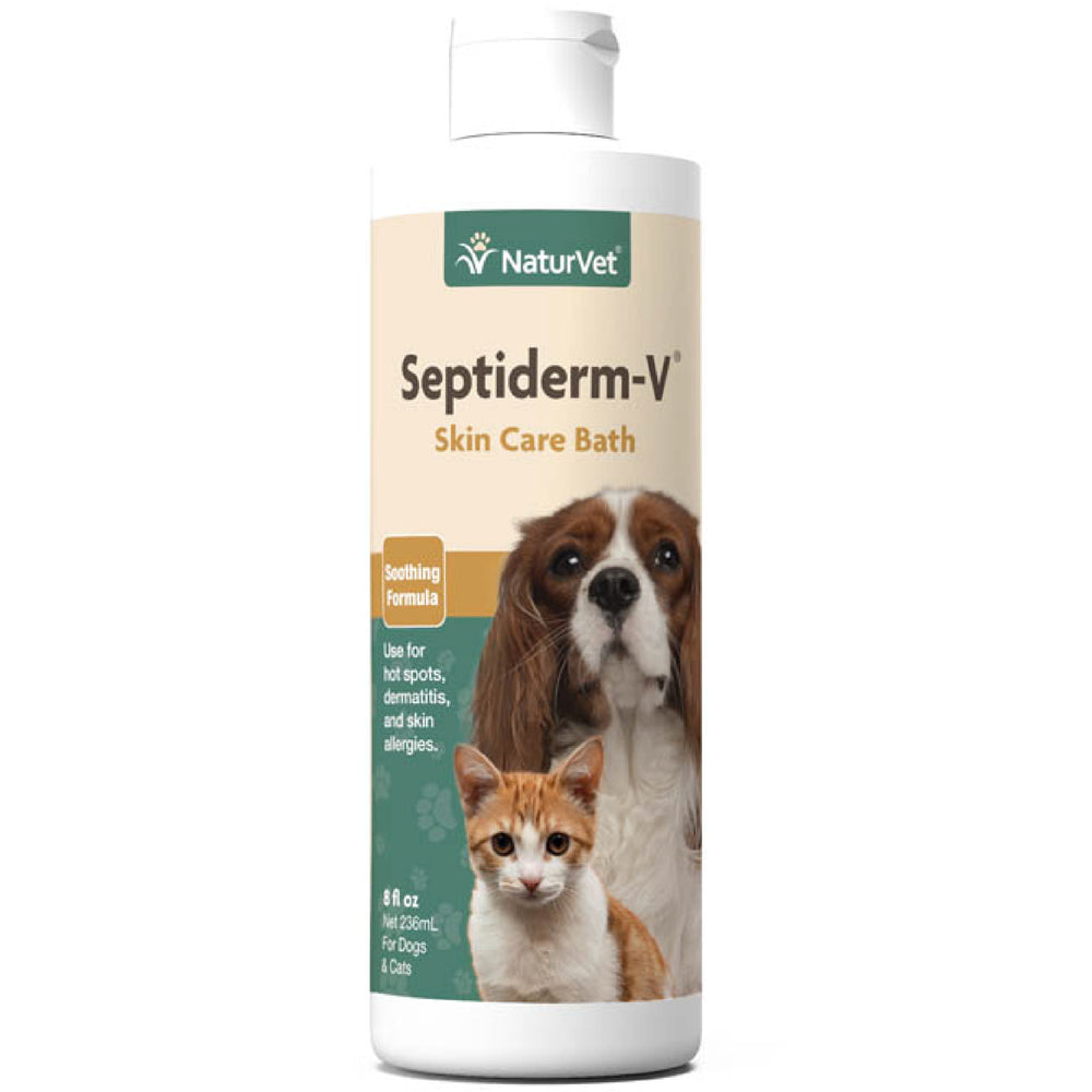 <b>20% OFF:</b> NaturVet Septiderm-V® Soothing Formula Skin Care Bath