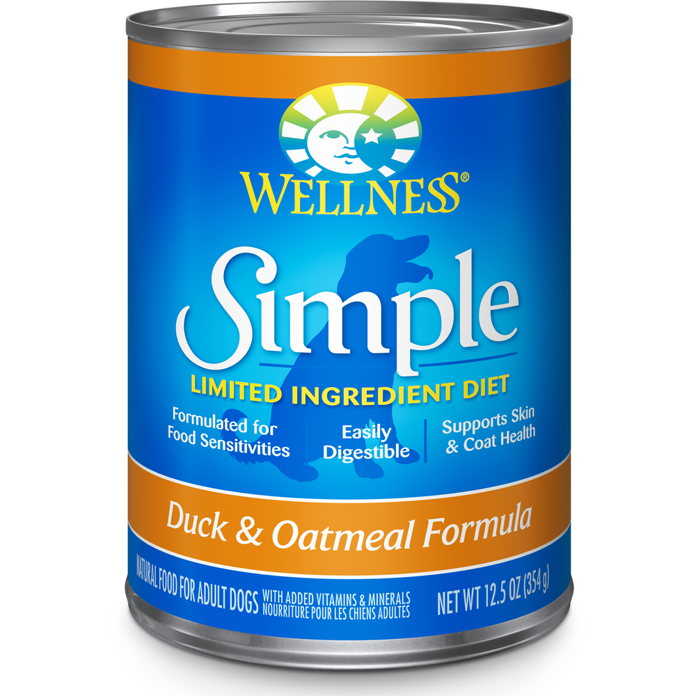 <b>20% OFF:</b> Wellness Simple Solution Limited Ingredient Duck & Oatmeal Wet Dog Food