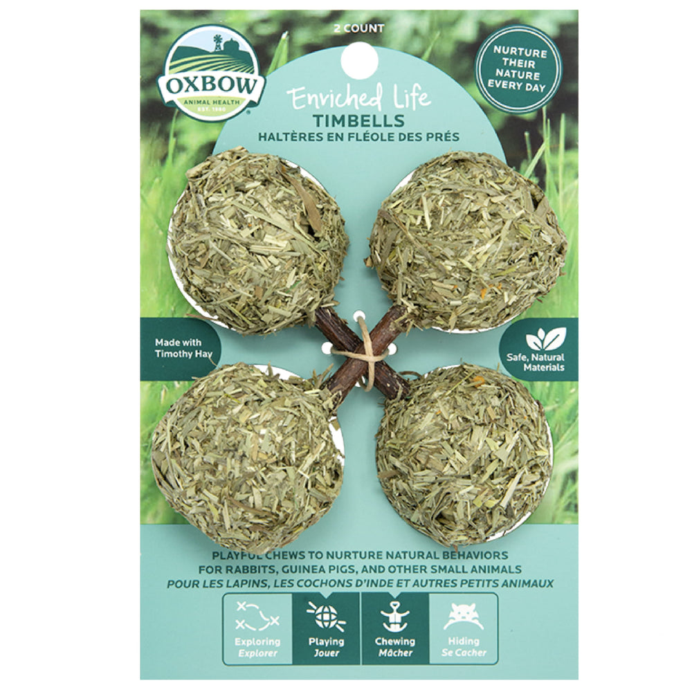 <b>20% OFF:</b> Oxbow Enriched Life Natural Chews Timbells