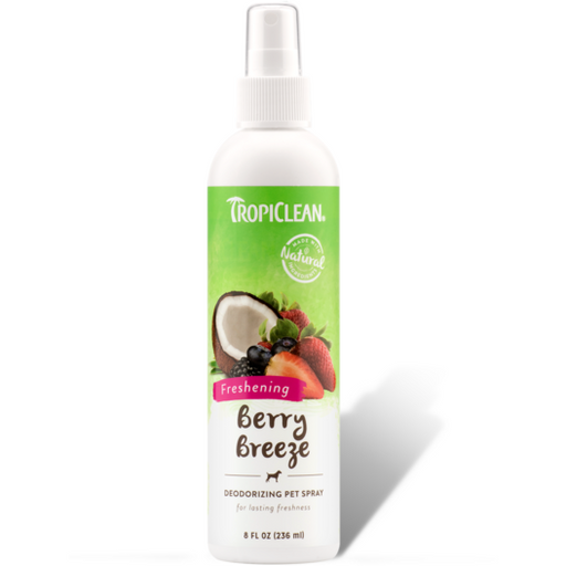 <b>15% OFF:</b> TropiClean Berry Breeze Deodorizing Pet Spray
