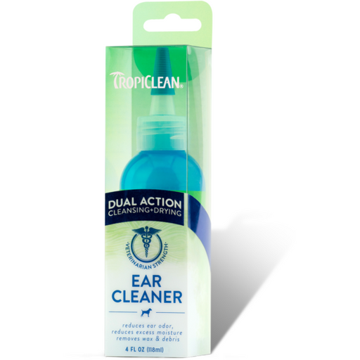 <b>15% OFF:</b> TropiClean Dual Action Ear Cleaner For Pets