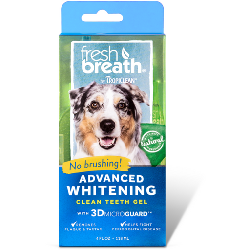 <b>15% OFF:</b> TropiClean Fresh Breath Advanced Whitening Gel - With 3D Micro Guard